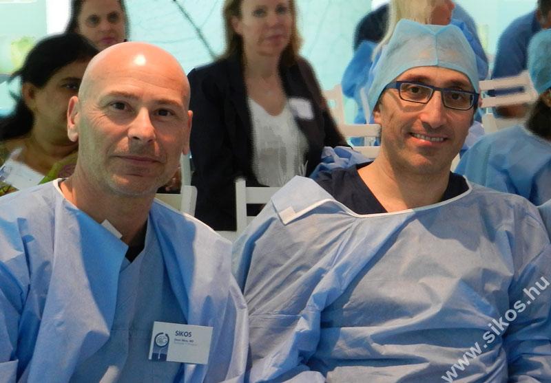 dr. Besssam Farjo és dr. Sikos
