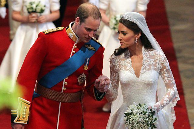 Vilmos herceg az esküvőjén 2011.